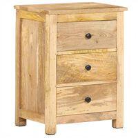 vidaXL Noční stolek 45 x 35 x 60 cm masivní mangovníkové dřevo