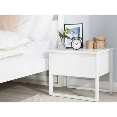 Bílý noční stolek GIULIA