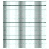 vidaXL 2D zahradní plotový dílec 2,008 x 2,23 m zelený