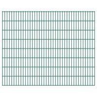 vidaXL 2D Zahradní plotové dílce 2,008 x 1,63 m 4 m (celková délka)