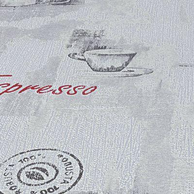 vidaXL 2 ks netkané tapetové role bílé 0,53 x 10 m káva