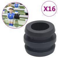 vidaXL Doraz na tyče stolního fotbalu pro 15,9/16 mm tyč 16 ks