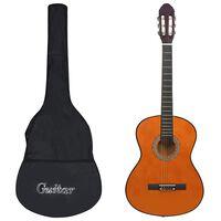 vidaXL 12dílný set klasická kytara pro začátečníky 4/4 39''