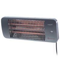 Sunred Nástěnný terasový ohřívač Lugo 2 000 W křemíkový šedý