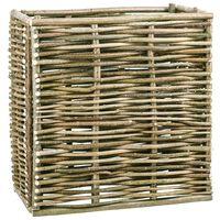 vidaXL Vyvýšený záhon 80 x 40 x 80 cm lískové dřevo