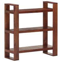 vidaXL Knihovna medově hnědá 84 x 30 x 90 cm masivní akáciové dřevo