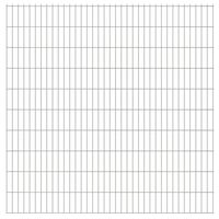 vidaXL 2D zahradní plotové dílce 2,008 x 2,03 m 16 m (celková délka)