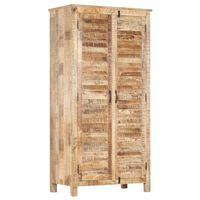 vidaXL Šatní skříň 90 x 50 x 180 cm masivní mangovníkové dřevo