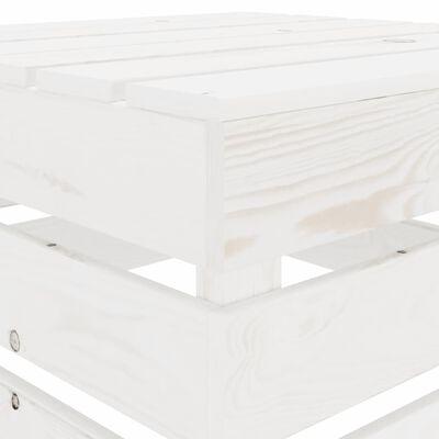 vidaXL 2dílná zahradní sedací souprava + antracitové podušky dřevo