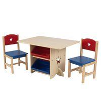 KidKraft Hvězdičková sada stolu se 2 židlemi