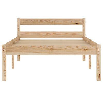 vidaXL Rám postele masivní borové dřevo 100 x 200 cm