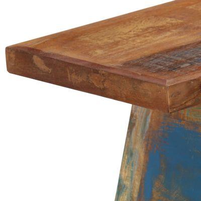 vidaXL Konzolový stolek 110 x 30 x 75 cm masivní recyklované dřevo