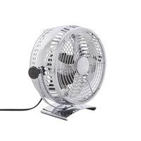 Stolní Ventilátor 24 Cm Stříbrný Ribble