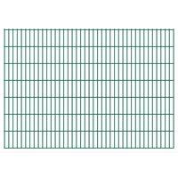 vidaXL 2D Zahradní plotové dílce 2,008 x 1,43 m 8 m (celková délka)