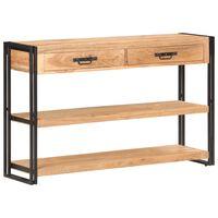 vidaXL Příborník 120 x 30 x 75 cm masivní akáciové dřevo