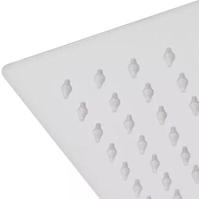 vidaXL Tropický déšť sprchová hlavice nerezová ocel 25x25 cm čtvercová