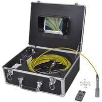 vidaXL Potrubní inspekční kamera 30 m s DVR kontrolní skříňkou