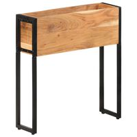 vidaXL Truhlík 60 x 20 x 68 cm masivní akáciové dřevo