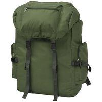 vidaXL Batoh v army stylu 65 L zelený