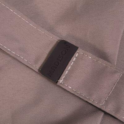 Madison Slunečník Flores 300 cm kulatý světle šedý