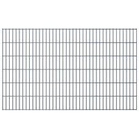 vidaXL 2D Zahradní plotové dílce 2,008x1,23 m 4 m (celková délka) šedé