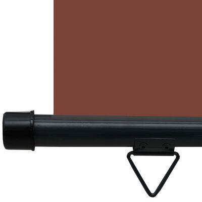 vidaXL Balkonová zástěna 160 x 250 cm hnědá