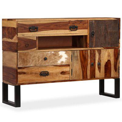 vidaXL Příborník z masivního sheeshamového dřeva 115 x 30 x 80 cm