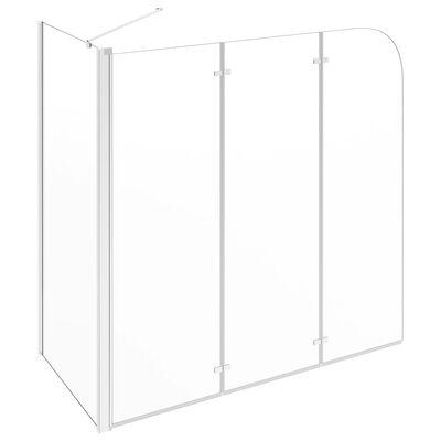 vidaXL Sprchový kout 120 x 69 x 130 cm tvrzené sklo průhledný,