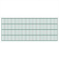 vidaXL 2D Zahradní plotové dílce 2,008 x 0,83 m 14 m (celková délka)