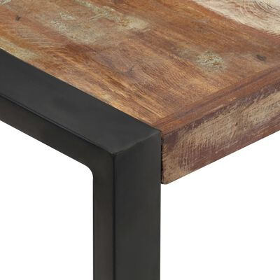 vidaXL Konferenční stolek 120 x 120 x 40 cm masivní recyklované dřevo