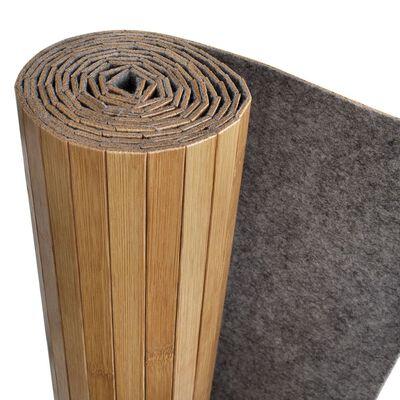 vidaXL Paraván bambusový přírodní odstín 250x165 cm