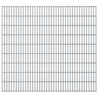 vidaXL 2D zahradní plotový dílec 2,008 x 1,83 m šedý