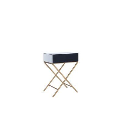 Odkládací stolek se zrcadlovým vzhledem VY