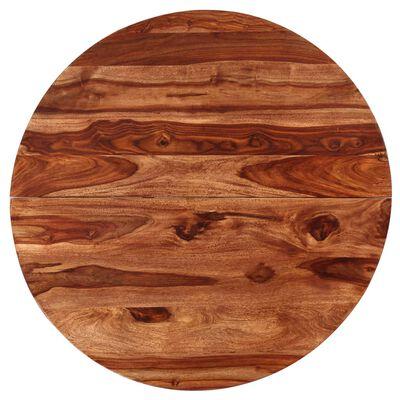 vidaXL Jídelní stůl z masivního sheeshamového dřeva 120 x 77 cm
