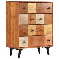 vidaXL Komoda se zásuvkami 60 x 30 x 75 cm masivní akáciové dřevo