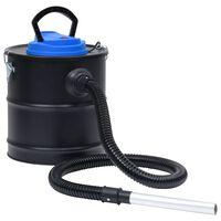 vidaXL Vysavač na popel s HEPA filtrem 1200 W 20 l ocel