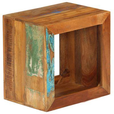 vidaXL Stolička 40 x 30 x 40 cm masivní recyklované dřevo