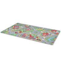 vidaXL Hrací koberec se smyčkovým vlasem 170x290 vzor Městská silnice