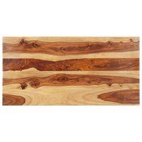 vidaXL Stolní deska masivní sheeshamové dřevo 25–27 mm 60 x 120 cm