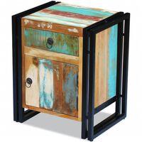 vidaXL Noční stolek masivní recyklované dřevo