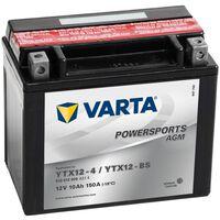 Varta Motobaterie Powersports AGM YTX12-4/YTX12-BS