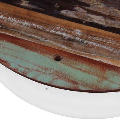 vidaXL Miskovité konferenční stolky 2 ks masivní recyklované dřevo