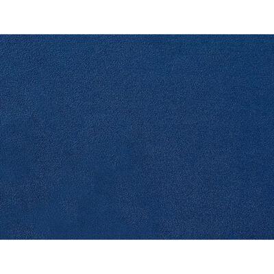 Potah Na Trojmístnou Pohovku Tmavě Modrý Sametový Bernes