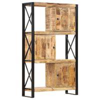 vidaXL Police na knihy 90 x 30 x 150 cm masivní mangovníkové dřevo