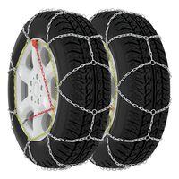 vidaXL Sněhové řetězy na pneumatiky 2 ks 9 mm KN110
