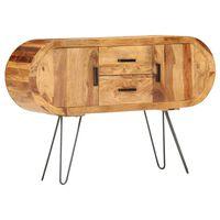 vidaXL Příborník 118 x 28 x 75 cm masivní sheeshamové dřevo