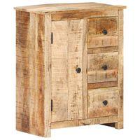 vidaXL Příborník 59 x 35 x 75 cm hrubé mangovníkové dřevo