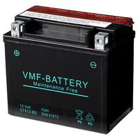 VMF Powersport Liquifix baterie 10 V 12 Ah MF YTX12-BS