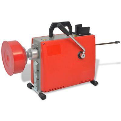 vidaXL Stroj na čištění odpadů 250 W 15 m x 16 mm 4,5 m x 9,5 mm