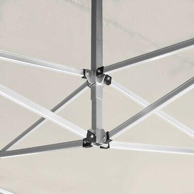 vidaXL Profesionální skládací party stan+stěny hliník 4,5x3 m krémový